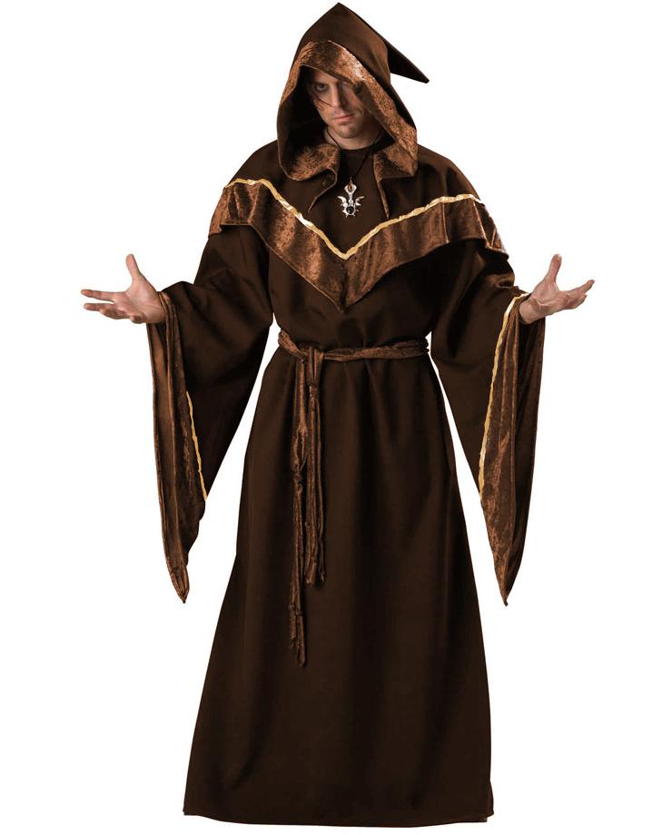 Premier Dark Sorcerer Costume, Premier Dark Sorcerer Adult Costume, Dark Sorcerer Adult Costume, #N4786