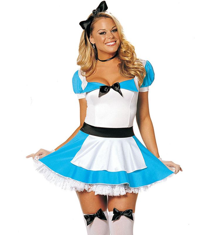 pretty alice in wonderland costume n8210