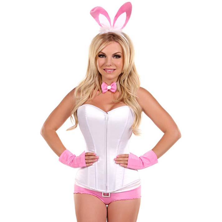 Pretty Pink Bunny Costume N11104