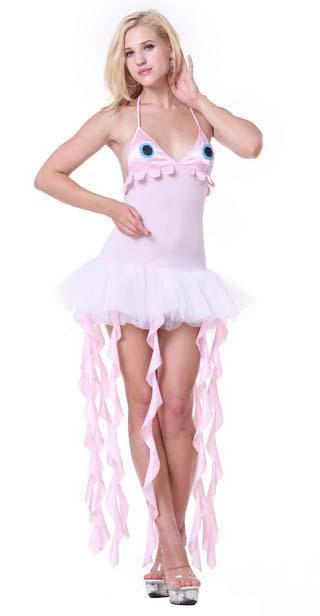 Sexy Jellyfish Costume, Deluxe Jellyfish Costume, Cheap Women