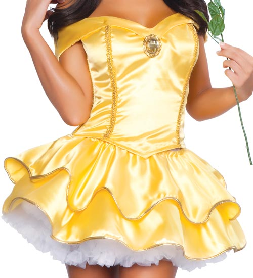 Beauty and the beast princess belle adult costume