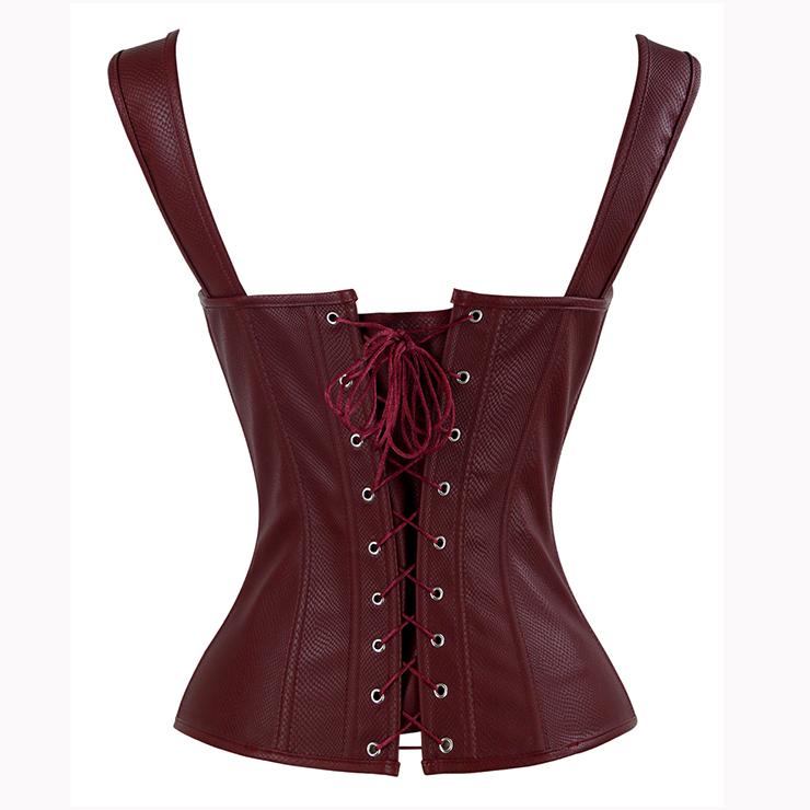 Steampunk Lace Up Vest Corset, Sexy Vest Corset for Women, Corset for Steampunk Costume, Women