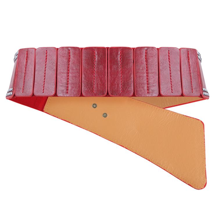 Tied Wasit Belt, High Waist Corset Cinch Belt, Vintage Wasit Belt, Waist Cincher Belt, Wide Waistband Cinch Belt, Elastic Waist Belt, Waistband For Women, Punk Waist Belt. #N14837