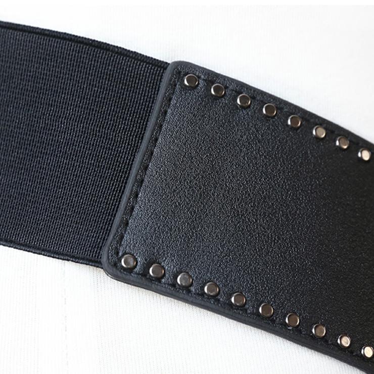 Tied Wasit Belt, High Waist Corset Cinch Belt, Vintage Wasit Belt, Waist Cincher Belt, Wide Waistband Cinch Belt, Elastic Waist Belt, Waistband For Women, Punk Waist Belt. #N15195
