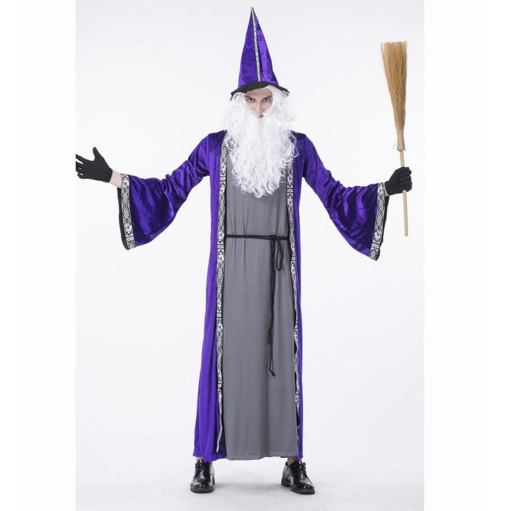 Purple Wizard Adult Costume N14761