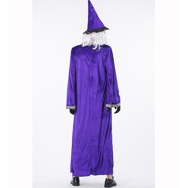 Premier Dark Sorcerer Costume, Premier Dark Sorcerer Adult Costume, Dark Sorcerer Adult Costume, Wizard Adult Costume, Wizard Costume for Men, #N14761