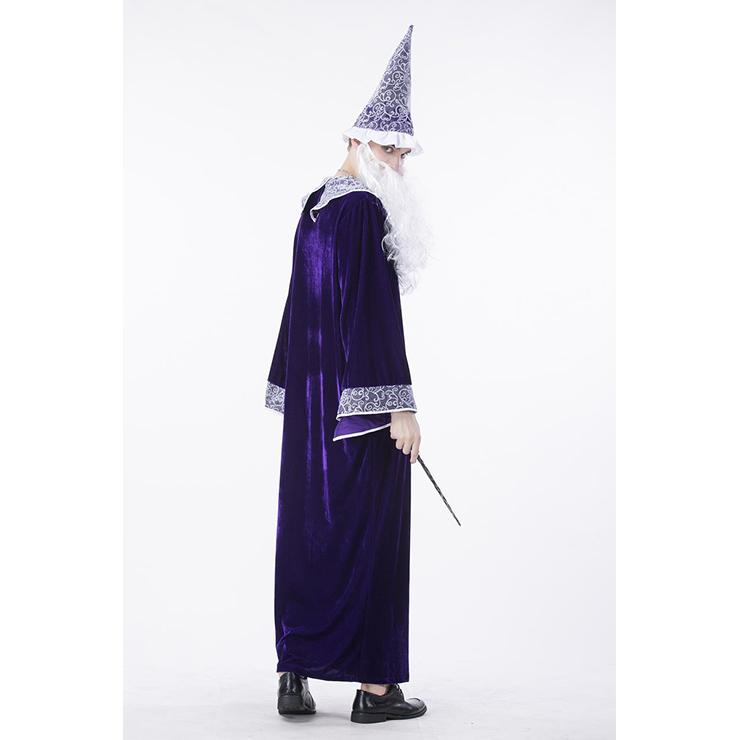 Purple wizard robe