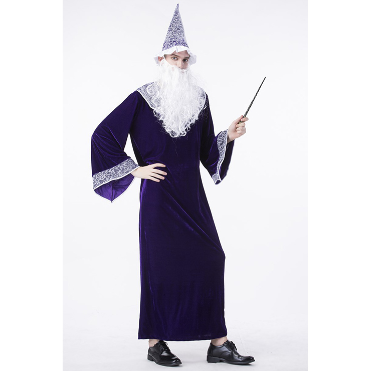 Premier Dark Sorcerer Costume Premier Dark Sorcerer Adult Costume Dark Sorcerer Adult Costume  sc 1 st  MallTop1.com & Purple Wizard Robe Adult Costume N14762