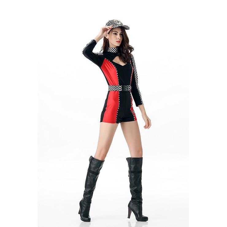Sexy racer girl costume