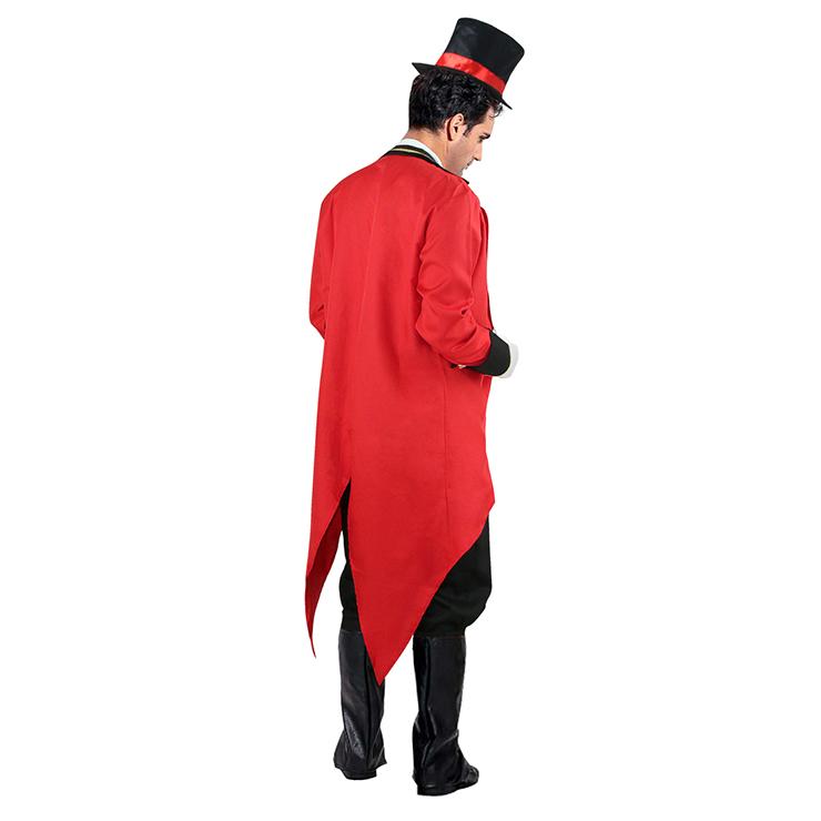 Mens Mad Hatter Costume, Ringmaster Adult Costume, Mens Mad Hatter Halloween Costume, Mens Alice In Wonderland Costumes, #N4573