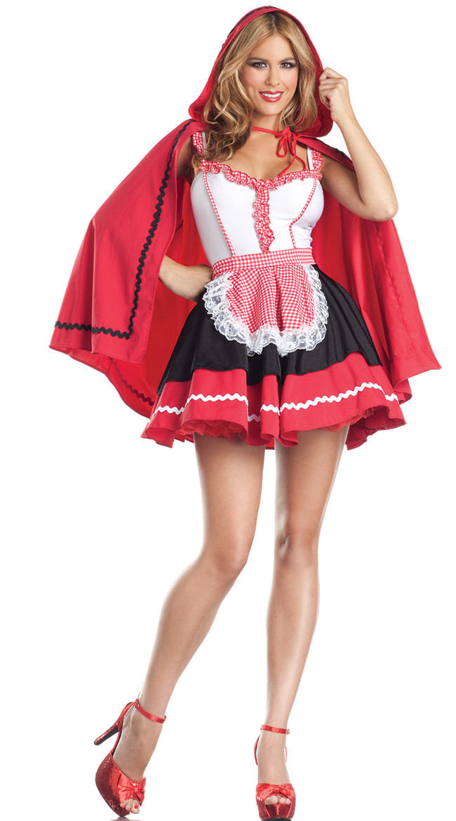 Sexy red riding hood costume picture 87