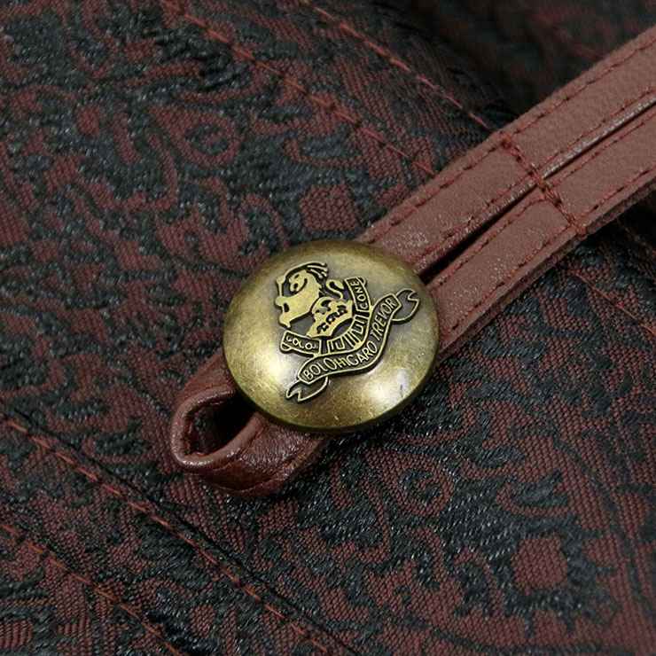 Vintage Brocade Outerwear Corset, Waist Cincher Corset, Cheap Outerwear Corset, Brown Steel Bone Corset, Brown Halter Steampunk Corset, Classic Corset Corset for the Body,#N10371
