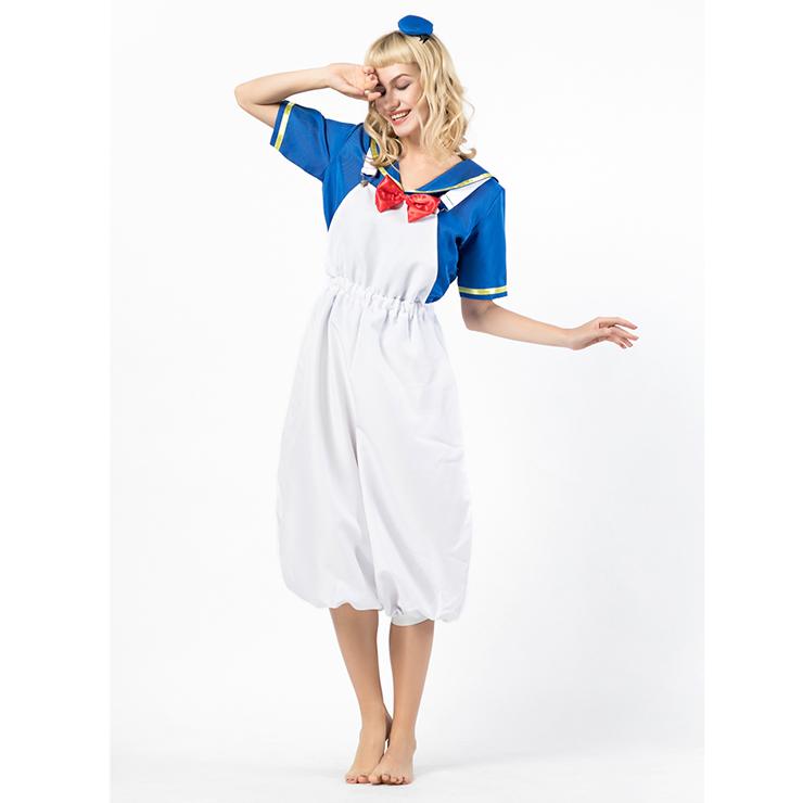 Sailor Costume, White Sailor Costume, Retro Sailor Cosplay Costume, Classical Style Sailor Role Play Costumes, Sailor Cosplay Set, Sailor Parentage Clothes, The Parent-child Attire, #N18303