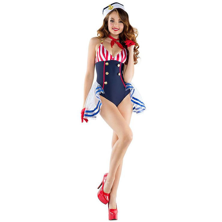 Fashion Adult Sailor Sweetie Costume N12904
