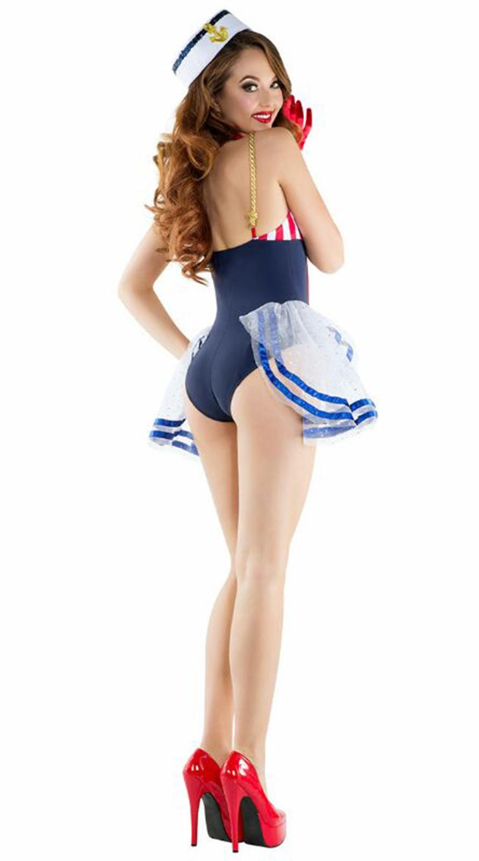 Cheap Sailor Costume, Anime Sailor Costume, Cosplay Costume, Hot Sale Halloween Costume, #N12904