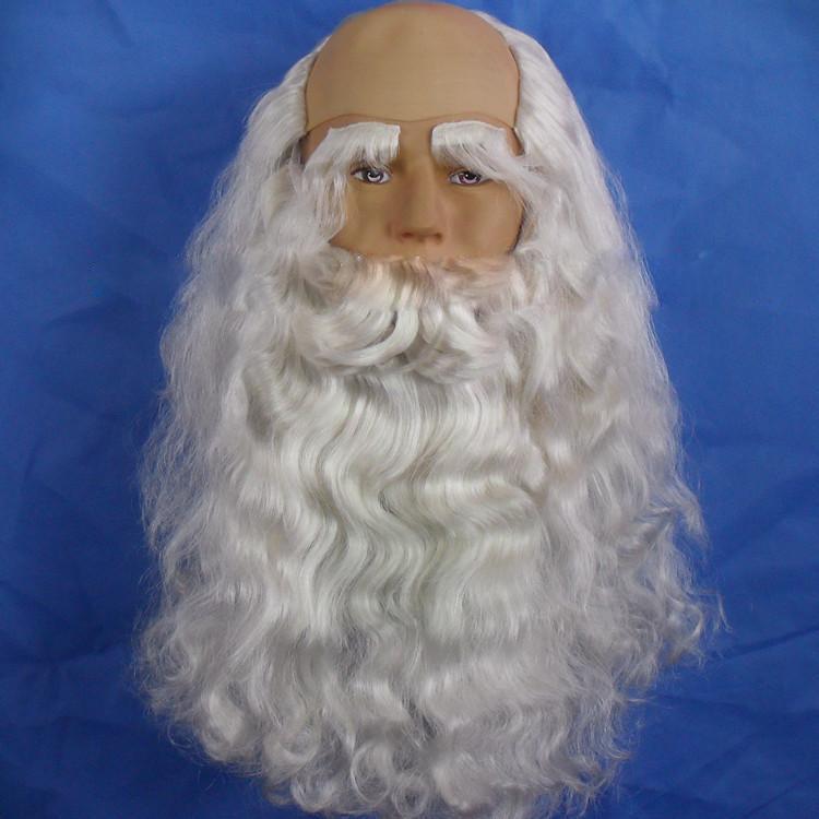 santa costume beards wigs eyebrow ms6321