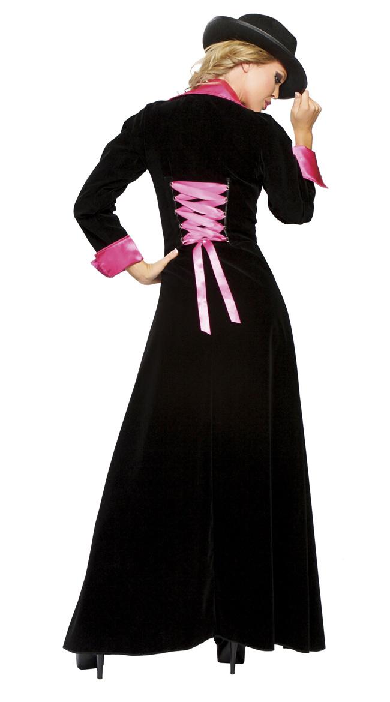 Sassy Pimp Costume, Female Pimp Costume, Sexy Pimp Halloween Costume, Magnificent Pimp Costume, #N4628