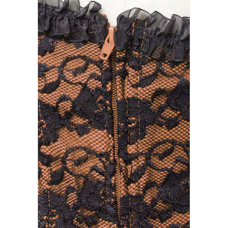 lace up boned corset, China Sexy Corsets, Sexy Corsets, #N6092
