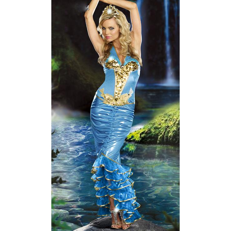 Sea Queen Mermaid Costume N4760