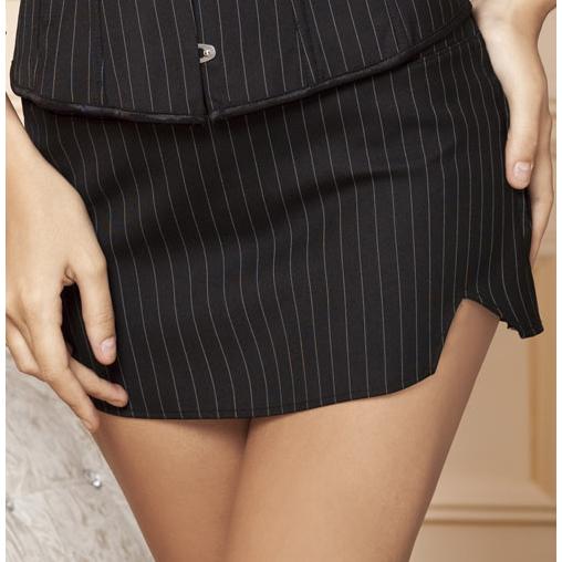 Pinstripe skirt HG1901