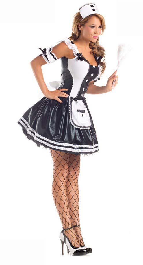 64c5f6dac9a6f Sexy Adult Maid Halloween Costume N9842