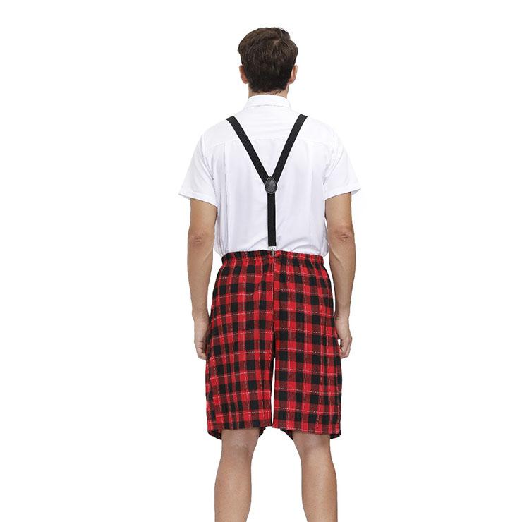 Mens School Uniform Set, Classic School Boy Costume, Bad Student Cosplay Costume, Playful Overalls Set Costume, Classic School Uniform Cosplay, Adult Role Play Costume, Bad School Uniform Set, #N20603