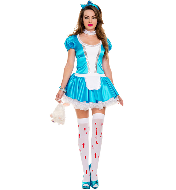 Sexy alice in wonderland outfit