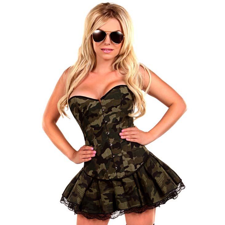 Sexy Army Girl Costume N11106