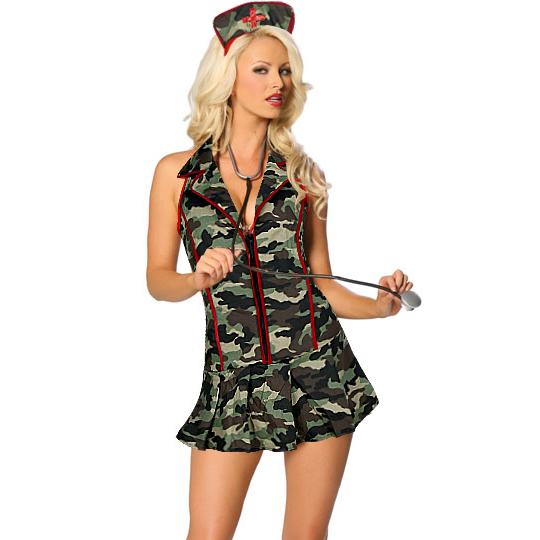Sexy Army Triage Nurse Costume N8234