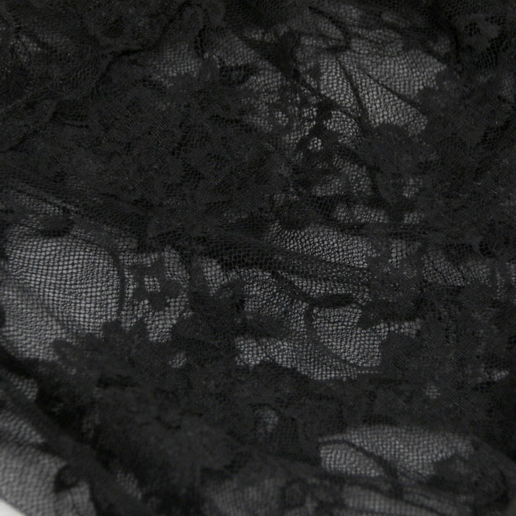 Sexy Black Shorts Plus Size, High Waist Panty for Women, Black Lace Plus Size Panty, Lace High Waist Panty, Sexy See-through Underwear, #PT16437