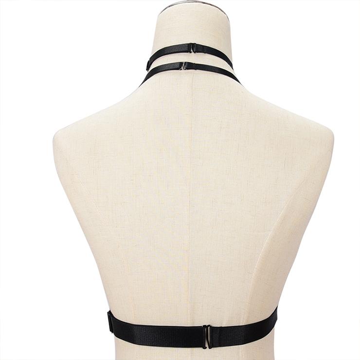 Sexy Bra Straps, Black Sexy Bundle Elastic Starps for Women, Halter Tops for women, Sexy Open Bra, Sexy Bundle Lingerie, #N18149