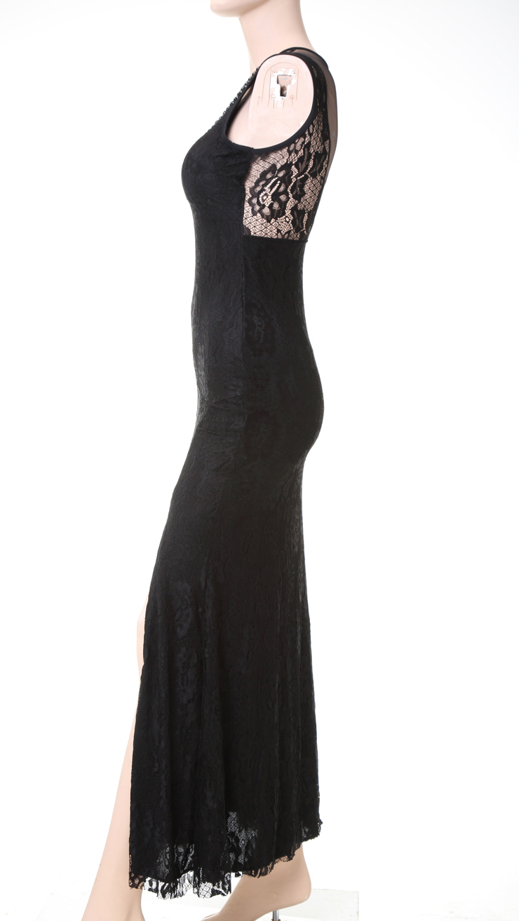 Sexy Black Evening Gown 49