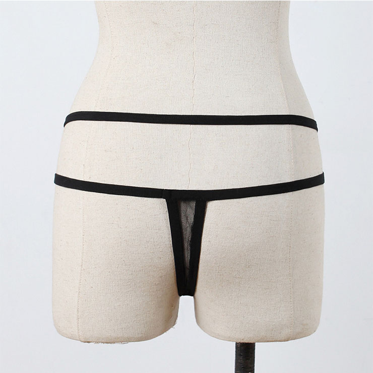Sexy Beachwear G-string, Low Waist Panties, Plus Size T-back Panties,Sexy Thong for Women, Sexy Thong Lingerie, Flirty See-through Panty, Sexy Open Crotch Thong, #PT20845