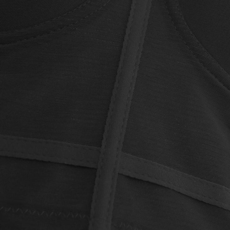 Sexy Black See-through Strap Bustier Bra, Crop Top Vegan Mesh Bustier Bra, Transparent Bustier Bra, Sexy Black Bustier, Spaghetti Straps Crop Top, Sexy Clubwear Bustier, #N18607