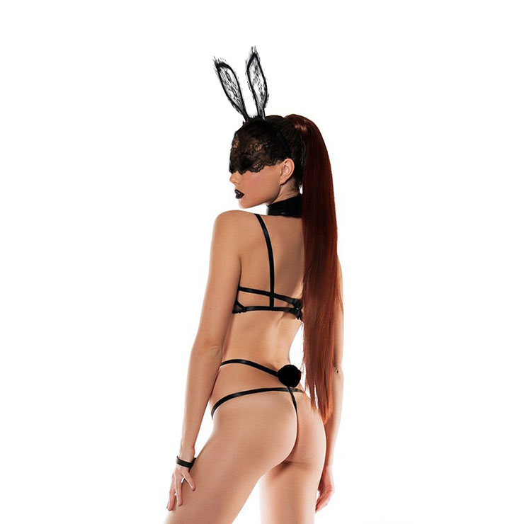 Hot Bunny Bedroom Costume, Sexy Lace Lingerie, Sexy Bunny Cosplay Costume, Flirty Teddy Lingerie, Sexy Bunny Uniform,One-piece Bodysuit Temptation Costume, Sexy Cosplay Costume, #N20483