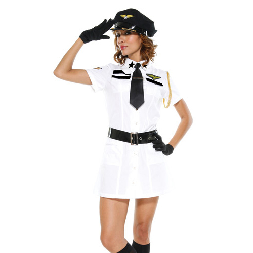 Sexy Captain Mile High Costume P2040
