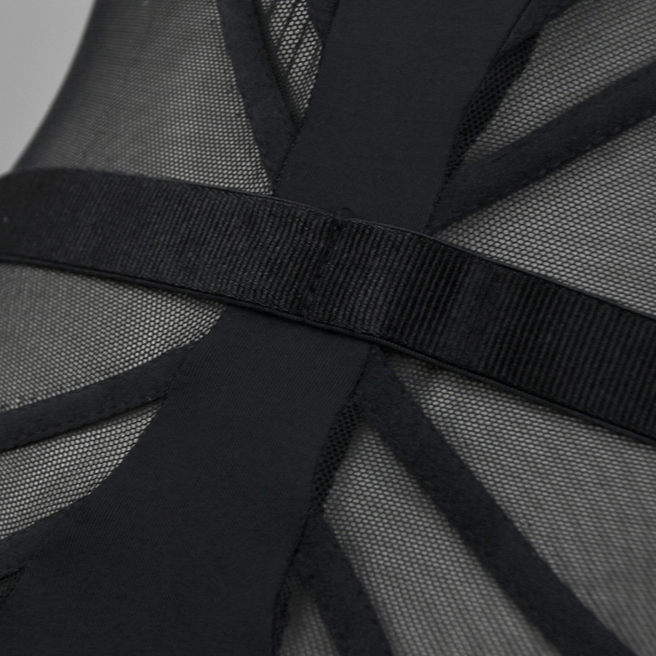 Sexy Black Bustier Corset, Fashion Body Shaper Bodysuit, Cheap Shapewear Corset, Women
