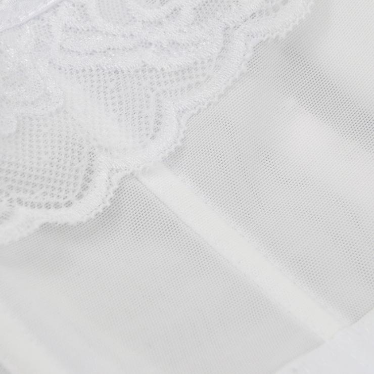 Sexy White Bustier Corset, Fashion Body Shaper, Cheap Shapewear Corset, Women