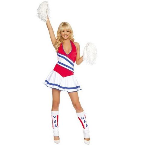 73f7a27dd18 Sexy Cheerleader Costume N1432