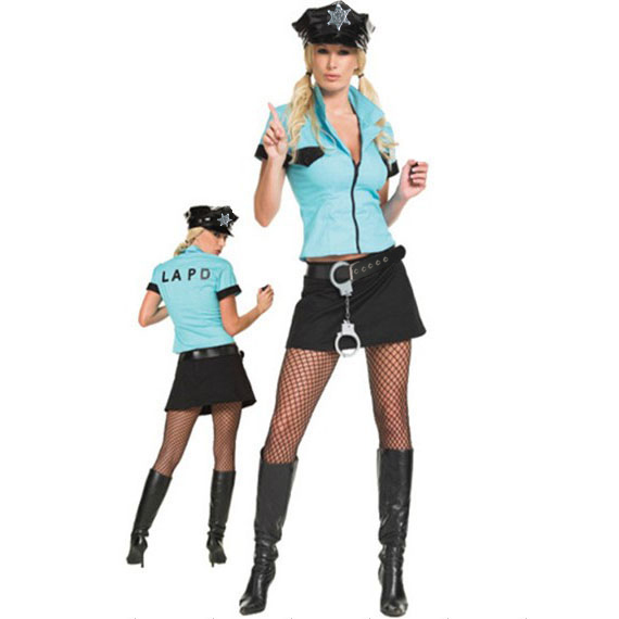 Sexy Police Woman Costumes M1609