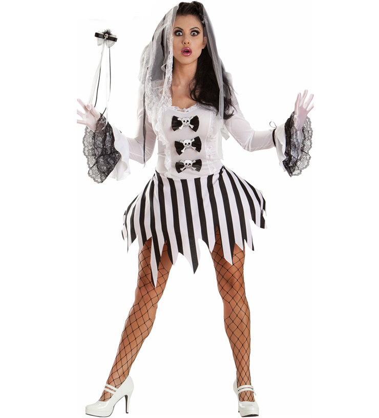 Sexy Corpse Bride Costume N5879