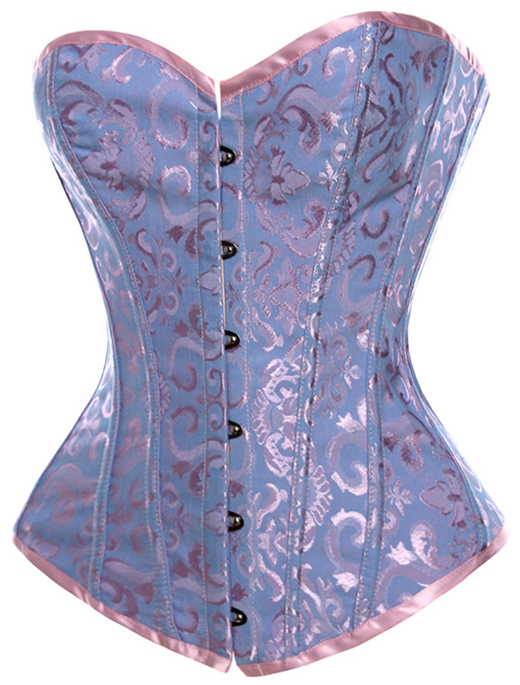 Sexy Bustier Corsets, Satin Corsets, Overbust Corsets, #N6179