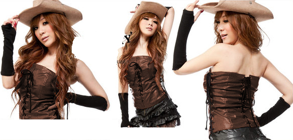 Naughty Cowgirl Costume, Cowgirl Costume, Sexy Indian Costume, #M3192