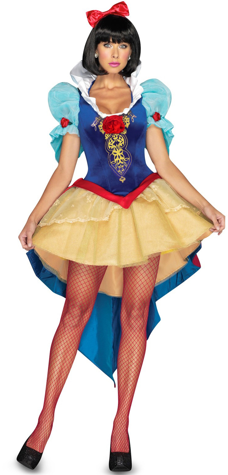 Sexy Snow White Deluxe Adult Costume, Deluxe Snow White Costume, Snow White Costume, #N6784