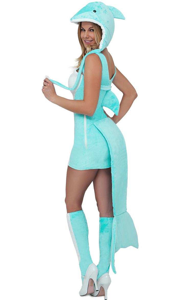 Sexy dolphin costume n7198 for Sexy fish costume