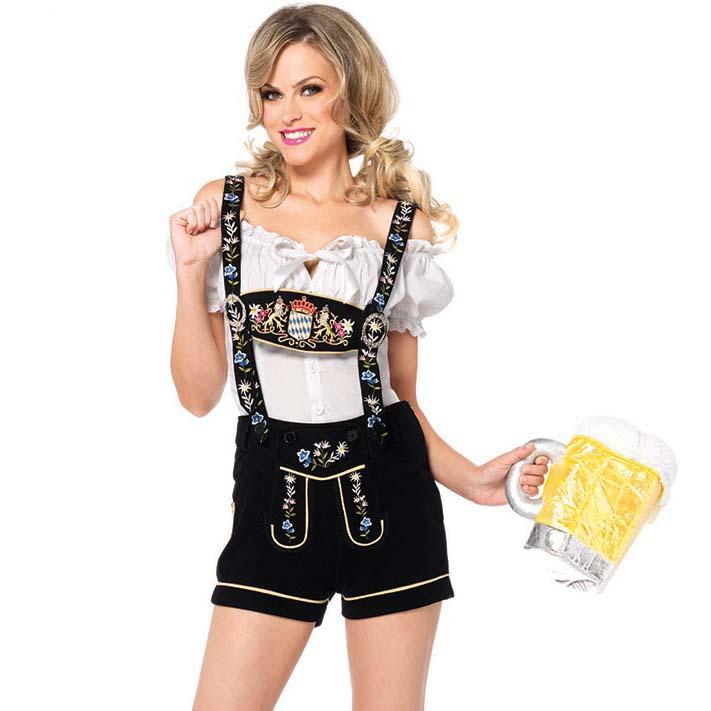 Sexy Edelweiss Lederhosen Oktoberfest Costume N10659