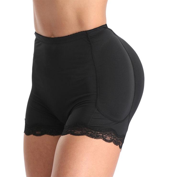 Sexy Black Shorts Elastic Seamless Panties Breathable Female Hip-lifting Underwear PT20392