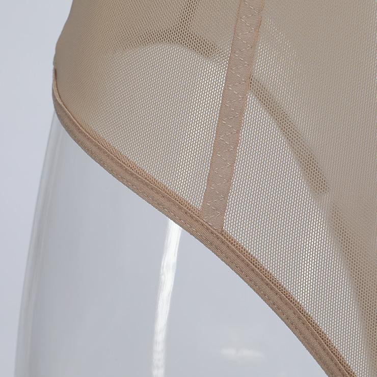 Sleepwear for Women, Sexy Bodysuit, Cheap Romper Lingerie, Strappy Mesh Lingerie, FleshTeddy lingerie for women, Teddy Lingerie Cutout,  #N14489