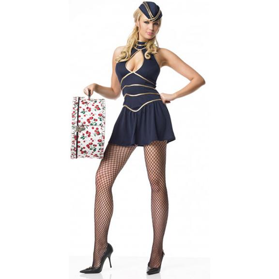 Sexy Flight Attendant Costume N1784