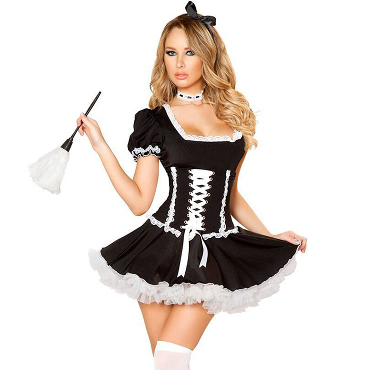 Buy french maid halloween costumes